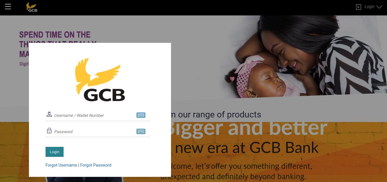 GCB Internet Banking Login
