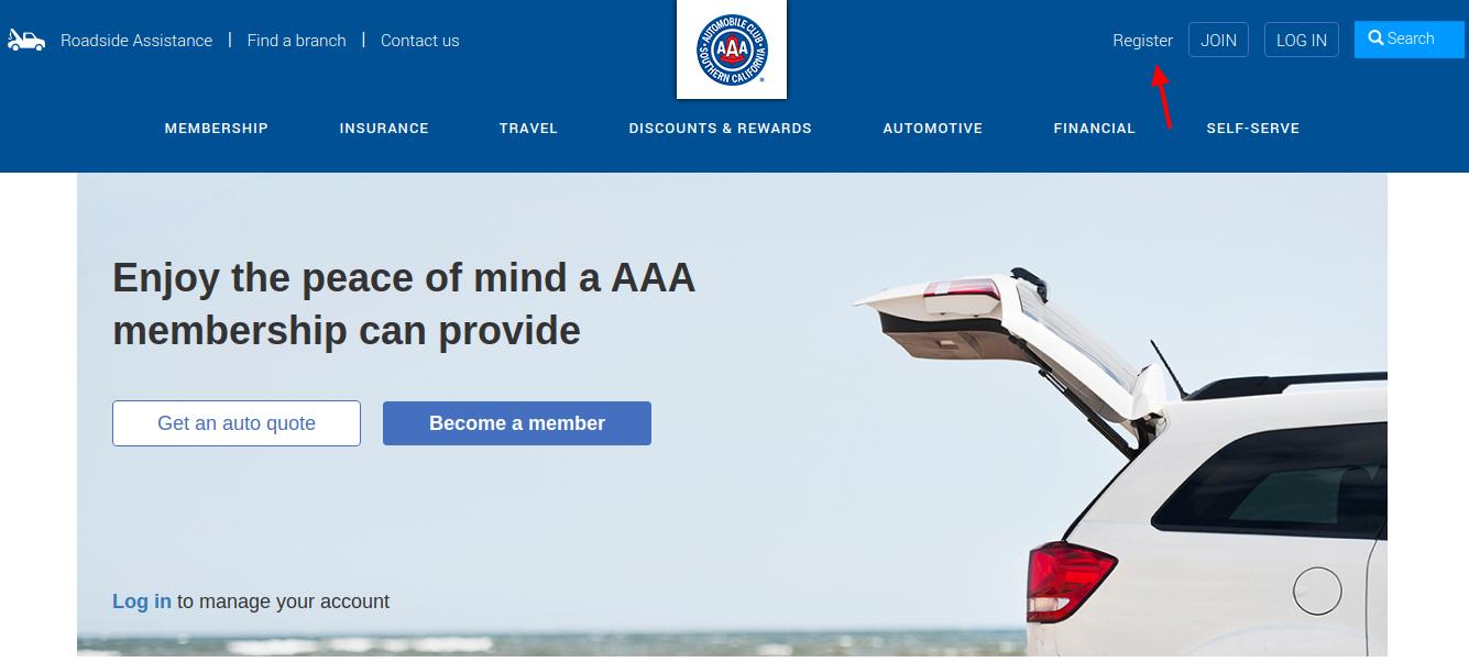 AAA Register