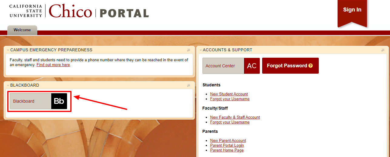 CSU chico portal login