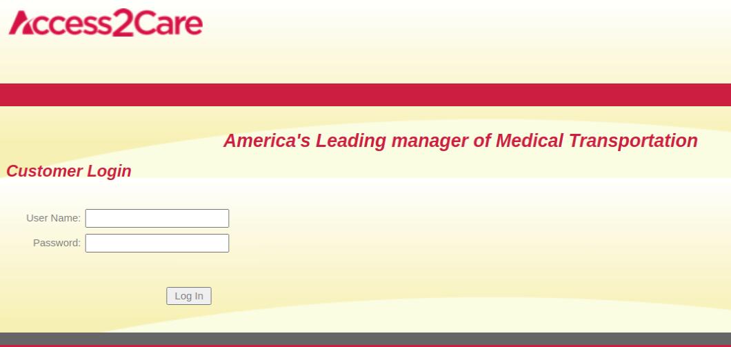 Access 2 Care Login