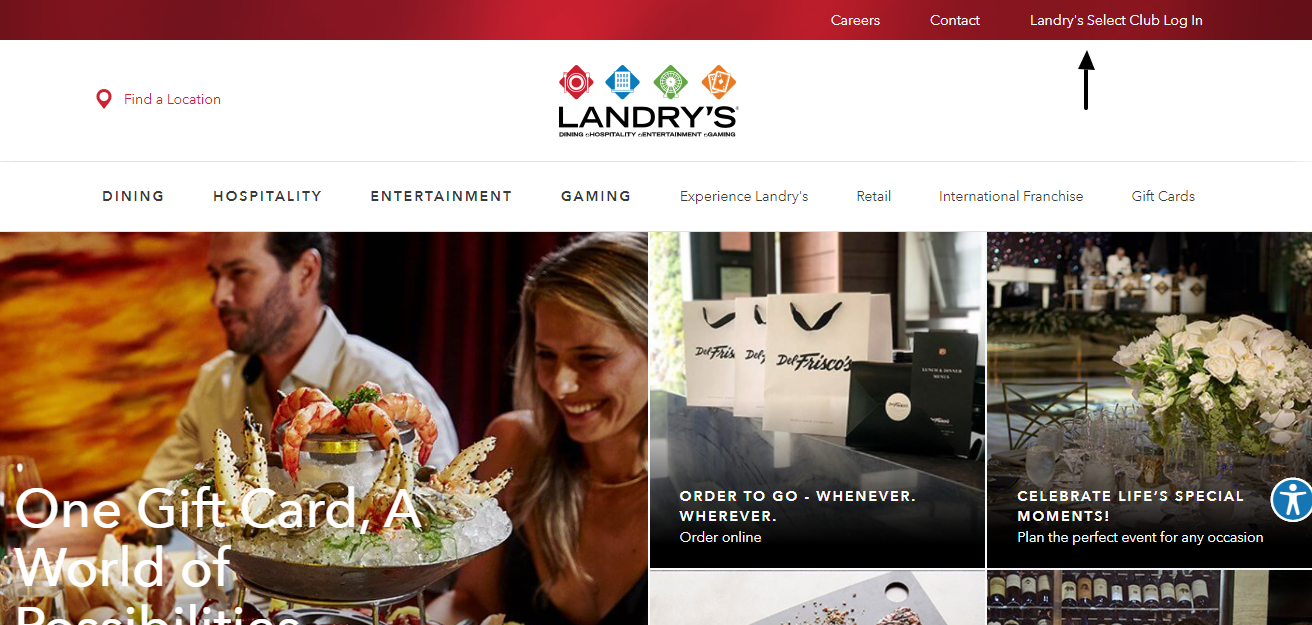 landry's login